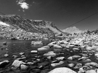 Pine Creek Pass BW