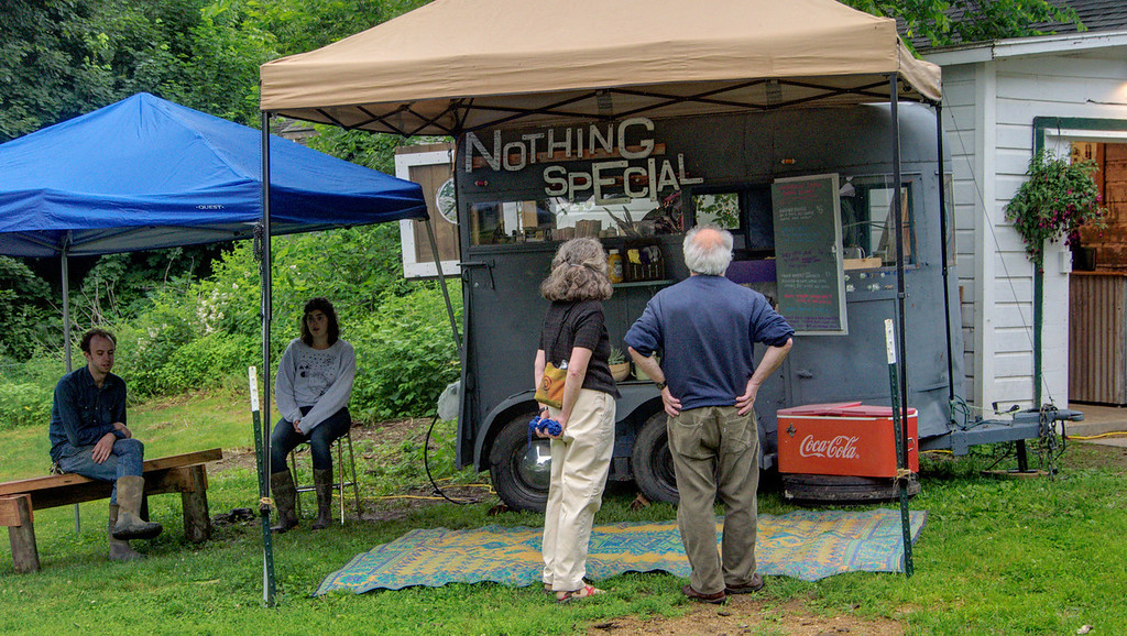 "The ""Nothing Special"" food wagon."