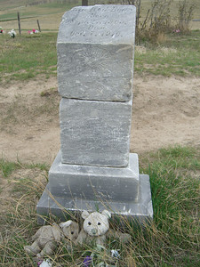 A lot of the graves held babies or young children.