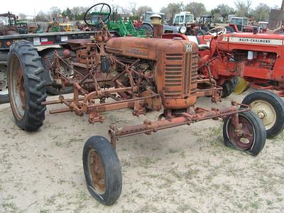 Near Bridgeport, NB. Tractors never die.
