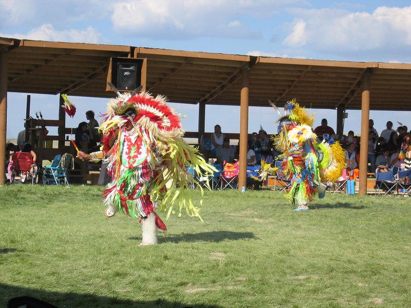 Indian Powwow at Lakota College.