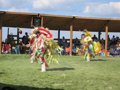 Indian Powwow at Lakota College.