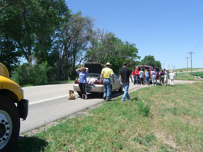 A roadside picnic in Nebraska?