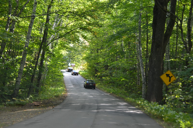 This is our first day trip out of White Mountain Resort. This may be Hurricane Mountain Road.
