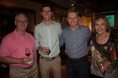 Dr. George, Gabriel Hament, and Dr. Brenda George