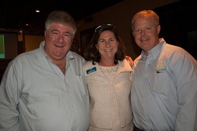Ben Turoff, Camille Cline, and Bill Johnson