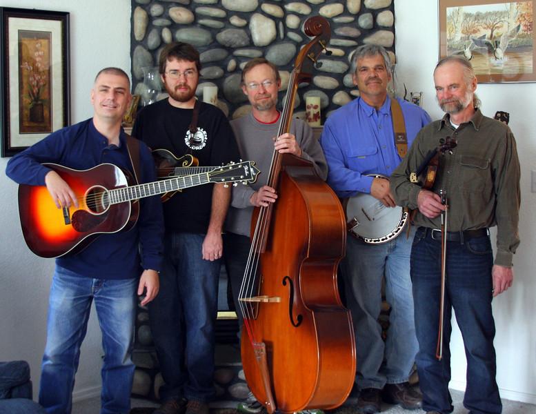 left to right: Bill Neaves, Chad Fadely, Rick Ryan, Jack Mauer, John Joyner