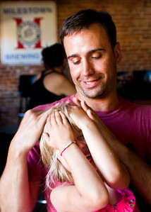 Brandon and his daughter, Gracie.
