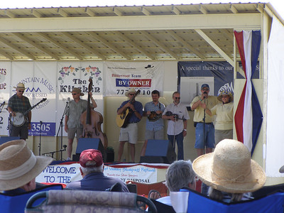 Bitterroot Bluegrass Festival 2007 Saturday afternoon
