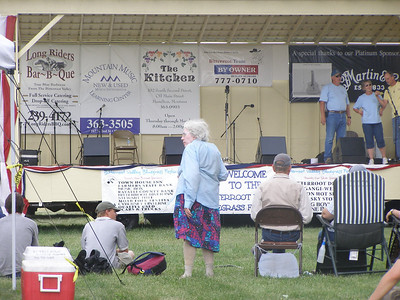 Patricia White is from a long time Victor farming/ranching family. She loves coming to the festival!