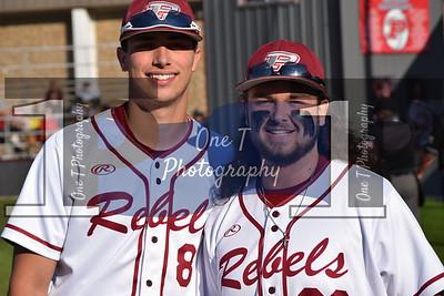 Baseball Senior Night 4/20/18