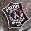 At the Fitchburg Police Dept. Coffee with a Cop event on Wednesday, they sold pink patches to raise funding for children's brain cancer. The Pink Patch Project usually raises awareness for just breast cancer, but there was a slight change this year. The change was inspired Abby Arpano, who runs the Central Massachusetts Chapter of The Cure Starts Now, who lost her daughter to brain cancer at the age of five. A picture of the patch. SENTINEL & ENTERPRISE/JOHN LOVE