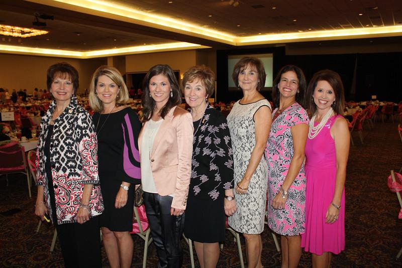 Connie Williams, Julie Roblee, Anna George, Gaye Cyphert, Beverly Harrison, Georgia Cantrell, Julie Knight2