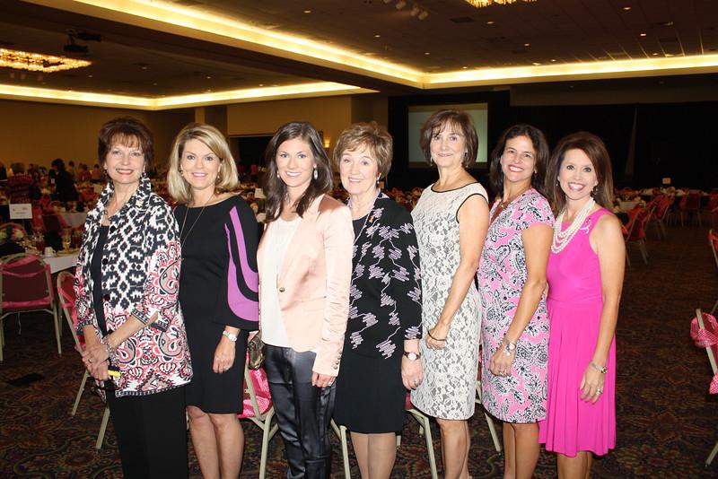 Connie Williams, Julie Roblee, Anna George, Gaye Cyphert, Beverly Harrison, Georgia Cantrell, Julie Knight3