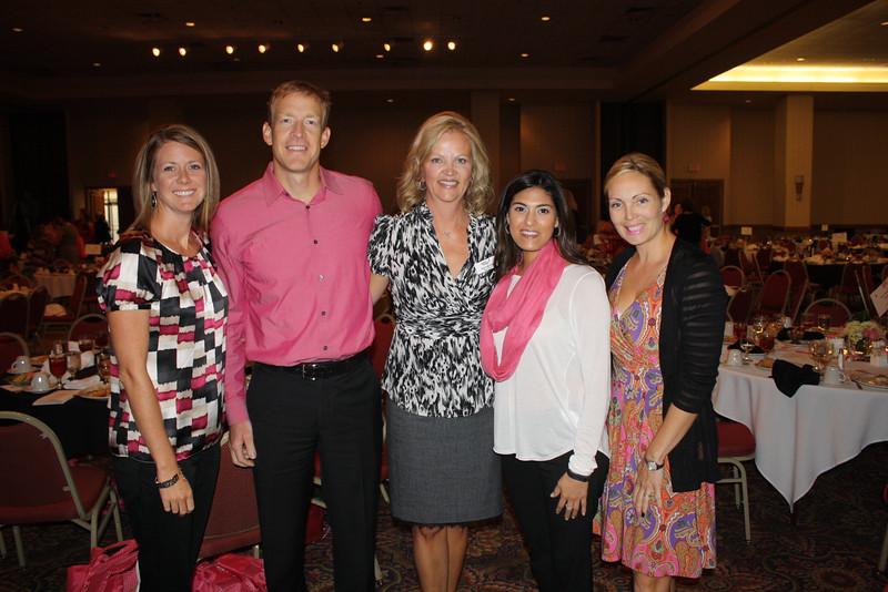 Julie Dhrmann, Brandon and Kari Nikolish, Melissa Gomen, 1