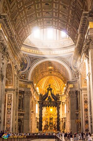 St. Peter's Baldachin by Bernini
