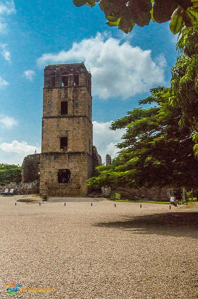 Tower at Panama Viejo