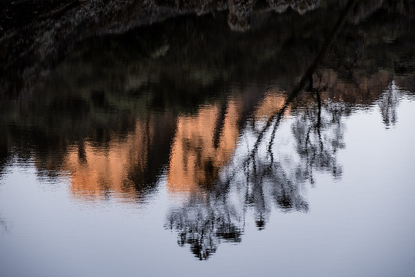 Bear Gulch Reservoir Reflections