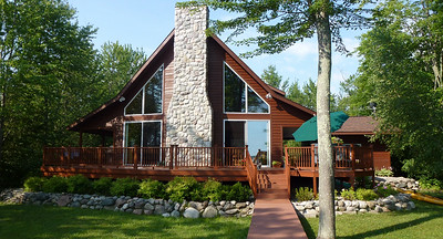 Roy and Rocky's beautiful cottage on Green Lake in Interlochen MI.