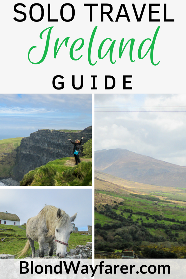 traveling solo to ireland | traveling solo in ireland | traveling alone to ireland | traveling alone in ireland | solo trip to ireland | solo travel to ireland | travel to ireland alone | planning a solo trip to ireland | solo female travel ireland | going to ireland alone
