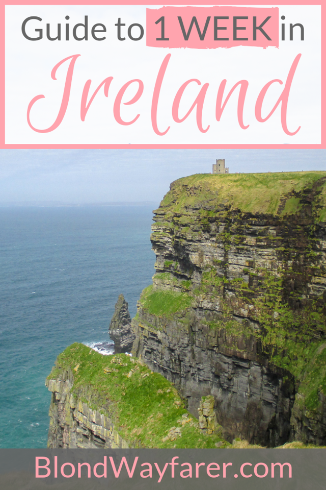 7 Day Ireland Itinerary | One Week in Ireland Itinerary | 7 Days in Ireland | 7 Days in Ireland Itinerary | One Week in Ireland | 1 Week in Ireland | What to See In Ireland in 7 Days | What to Do In Ireland for a Week | Seven Days in Ireland | Ireland Itinerary 7 Days