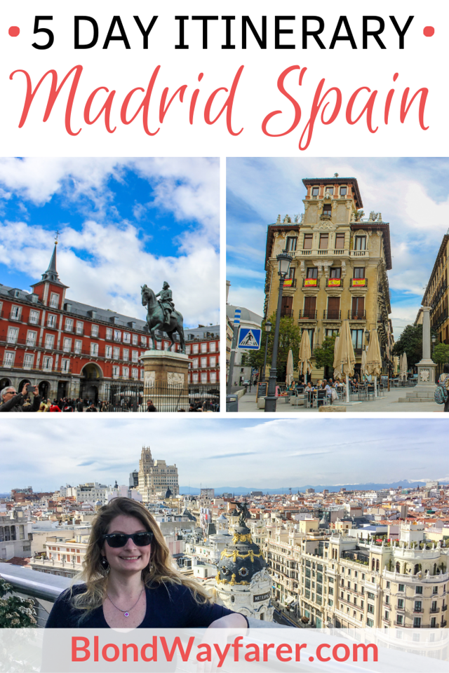 5 days in madrid | madrid in a week | five days in madrid | madrid 5 day itinerary | madrid in 5 days | madrid itinerary 5 days | spain itinerary 5 days