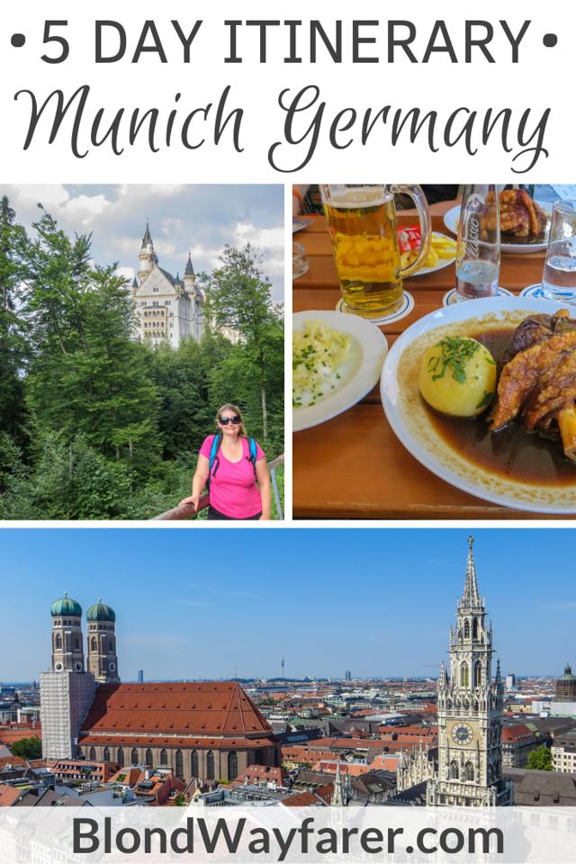 one week in munich | 5 days in munich | 5 days in munich itinerary | a week in munich |