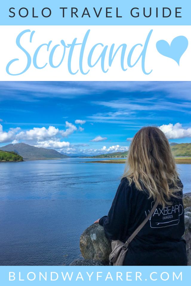 solo travel to scotland | solo travel in scotland | solo travel edinburgh | solo female travel scotland | scotland solo itinerary | traveling scotland alone | traveling to scotland alone