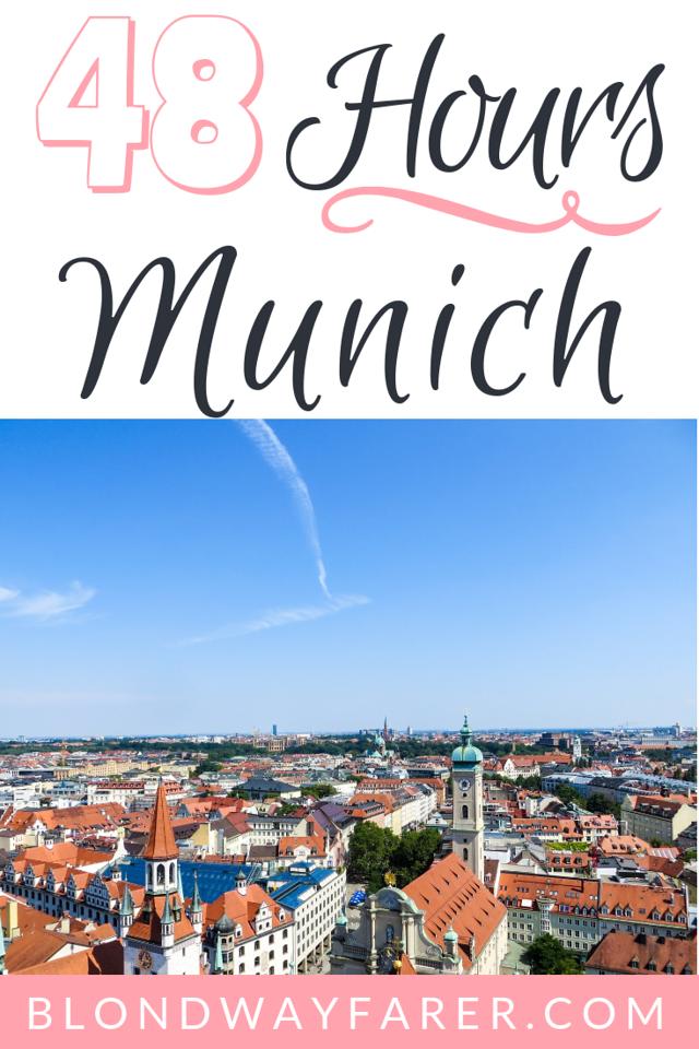 two days in munich | 2 days in munich | 48 hours in munich | munich in two days | munich 2 days
