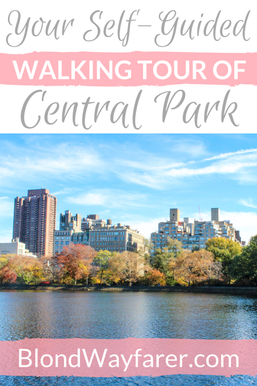 central park walking tour | central park tours | central park attractions | central park walk | central park self guided walking tour | central park sites