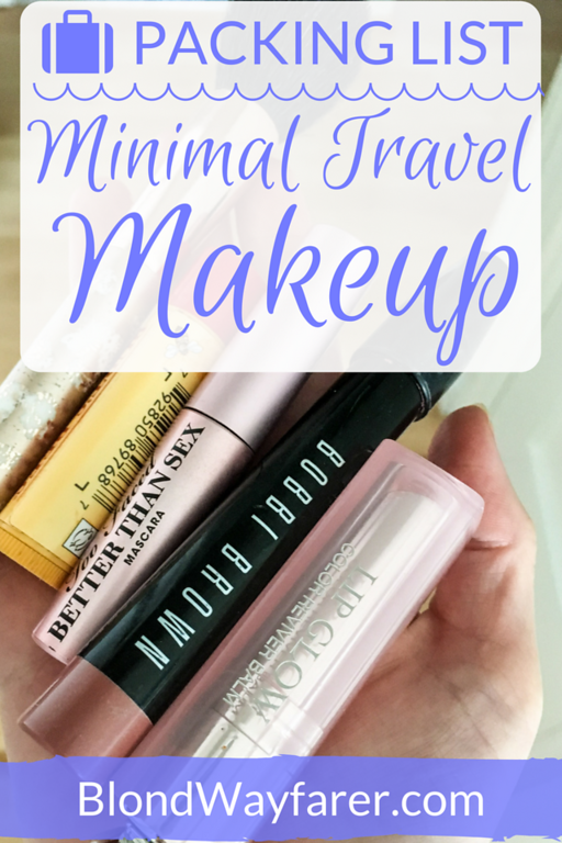 minimal travel makeup | travel and beauty | makeup packing list | sephora packing list | favorite beauty products | travel beauty products