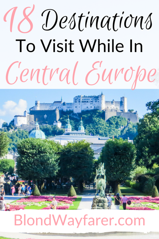 central europe travel itinerary | wanderlust | europe travel destinations | central europe | solo female travel | travel germany | travel czech republic | travel austria | visit budapest | travel tips