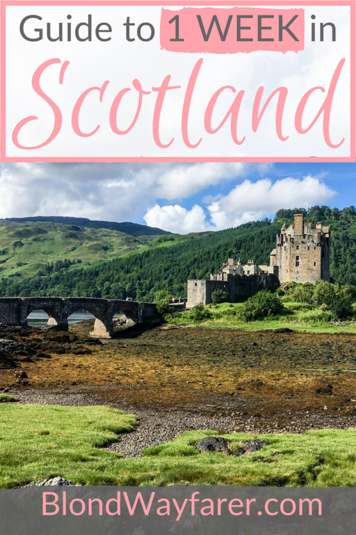 scotland in a week | visit scotland | scotspirit | travel europe | travel uk | solo female travel | travel inspiration | scotland itinerary | travel tips | scotland tips