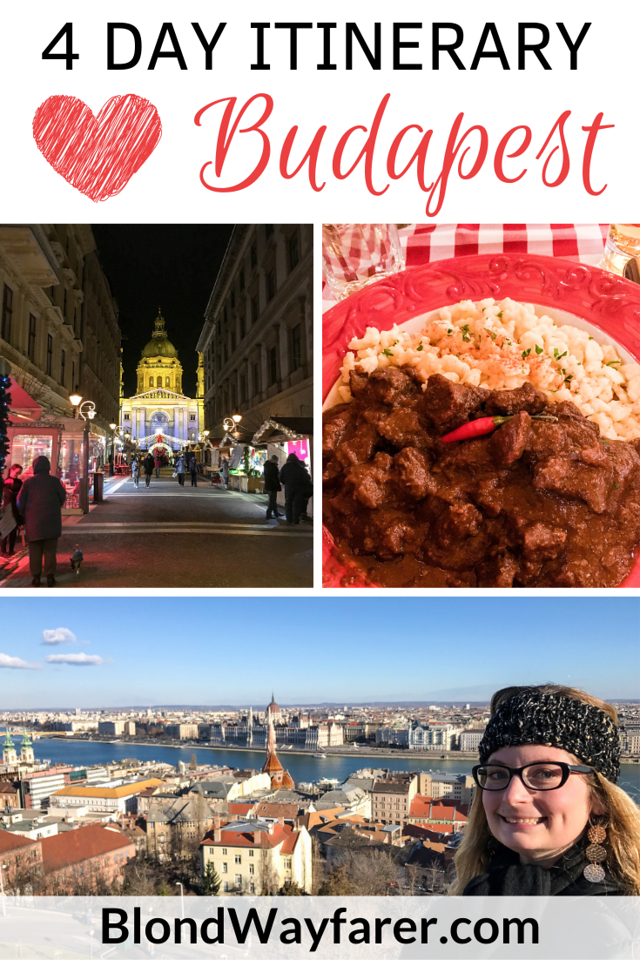 4 days in Budapest | Budapest Itinerary 4 Days | four days in budapest | 4 days in budapest itinerary | places to visit in budapest in 4 days
