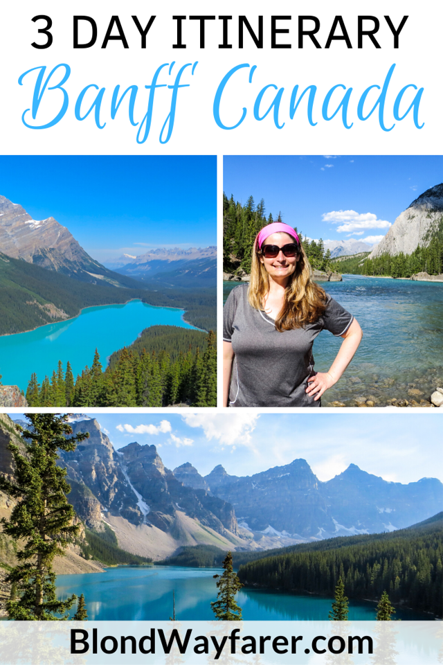 3 days in banff | 3 days in banff national park | banff weekend itinerary | weekend in banff | 3 days in alberta | 3 days in banff canada | itinerary banff national park