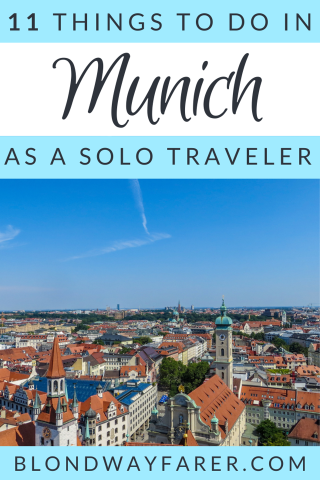 things to do alone in munich | solo travel munich | solo female travel in munich | solo travel things to do in munich