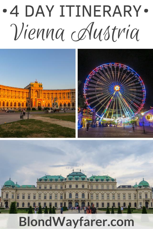 4 days in Vienna   4 days in Vienna itinerary   four days in Vienna   long weekend in Vienna