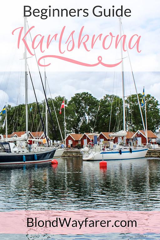 Karlskrona Sweden | Scandinavia | Wanderlust | Europe Travel Tips | Vacation | Travel Inspiration | Solo Female Travel