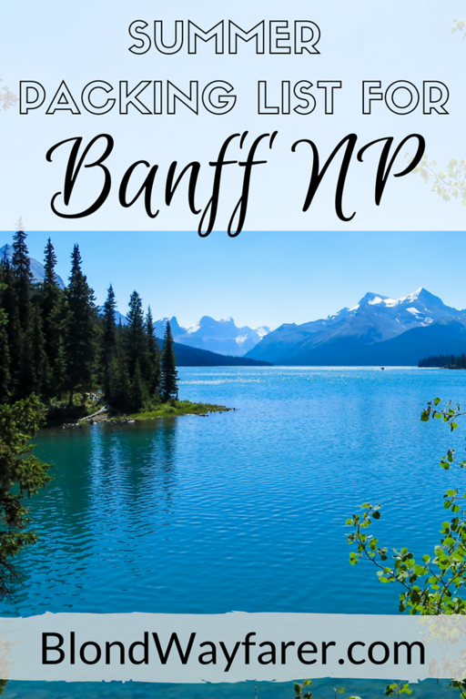 banff packing list | packing list for canadian rockies | canada packing list | outdoors packing list | camping list | canada | north america travel | travel canada | travel inspiration | solo female travel blog