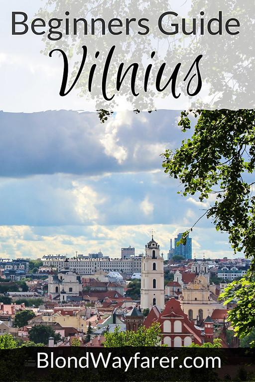 Vilnius | Lithuania | Travel Tips | Travel Guide | East Europe | Europe Travel | Wanderlust | Solo Female Travel