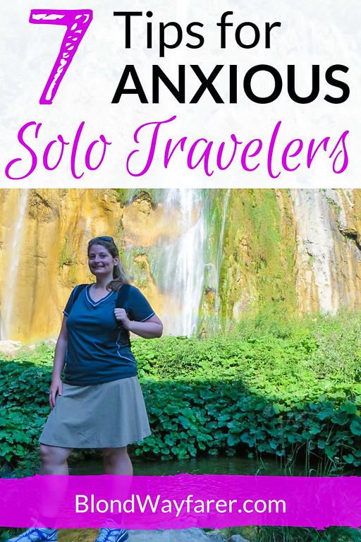 solo female travel | anxious travel | anxiety | mental health | travel tips | travel advice | wanderlust
