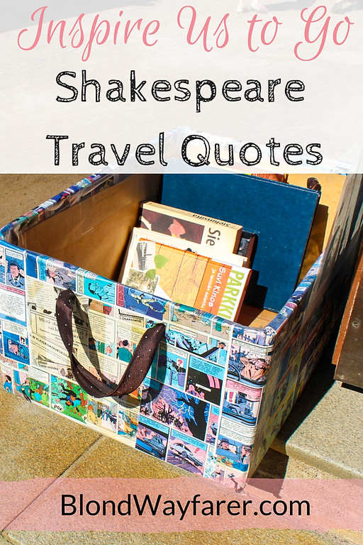 shakespeare travel quotes