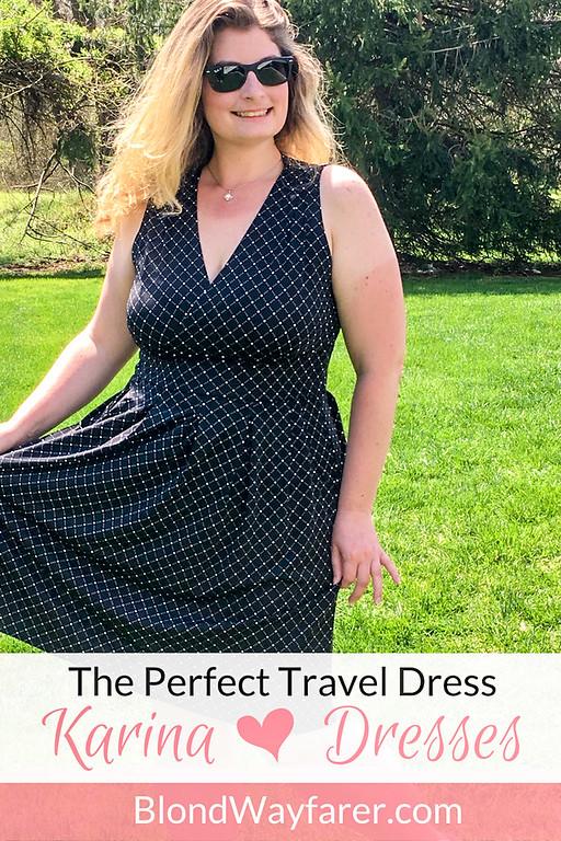 the perfect travel dress | karina dresses | summer fashion | travel fashion | dresses | sleeveless dresses | body positivity