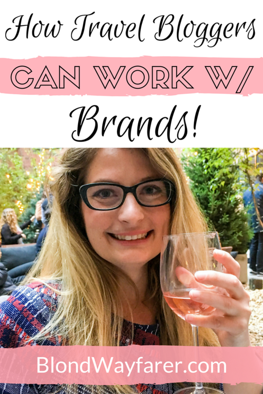 how travel bloggers can work with brand   travel bloggers   content creation   partnerships   collaboration   working with brands   blogging   blogging tips   digital nomads   how to be a blogger