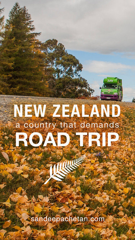 New Zealand, a country that demands a road trip