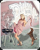 This image was featured in the 2014 Pinups for Paws Calendar for the New Braunfels Humane Society