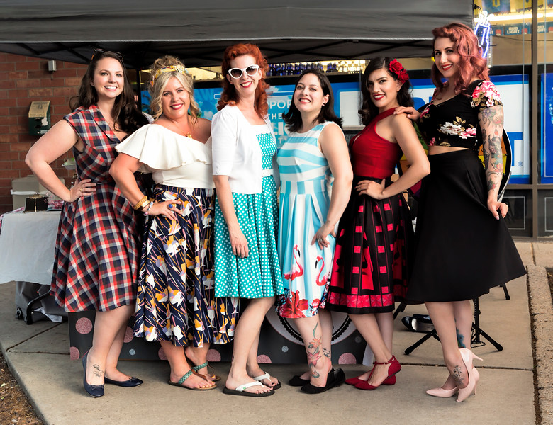 Pinups for Charity group calendar