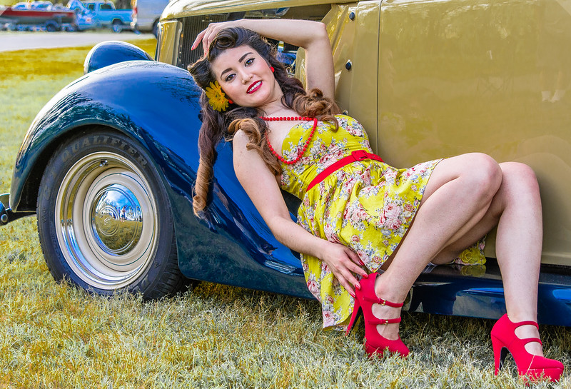 Pinups and Classy Cars