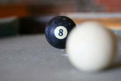 8 ball, corner pocket