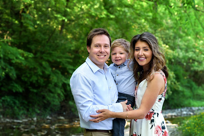Cincinnati Family Photography Spring Park Photos with Toddler Boy